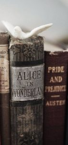 Book Spines - Alice in Wonderland